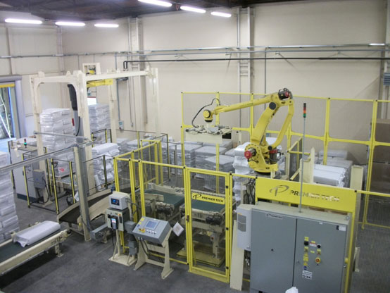 AR-200 series robotic palletiser